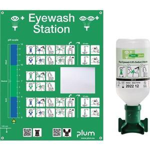 PLUM Augenspülstation 0,5 l HxBxTca. Haltbarkeit 3 Jahre(ungeöffnete Flasche)