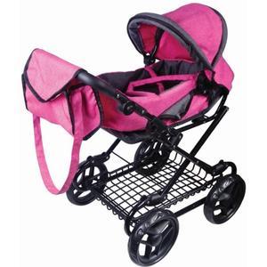 Amia AM Puppenwagen pink/grau melliert (55207356)