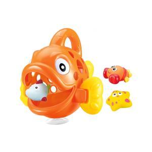 Jamara Badespielzeugsammler Hungry Fish orange 1+ (460614)