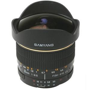 Samyang F 3,5/8 UMC Fish-Eye II Canon