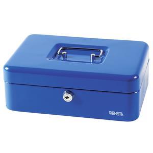 Multipack Geldkassette Met.250x180mmblau (753-1BU) - 4 Stück