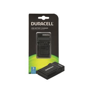 Duracell Ladegerät mit USB Kabel für GoPro Hero 5 und 6 Akku