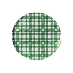DOSEN-ZENTRALE Twist-off Deckel sterilisationsfest Ø82mm grün/weiß 6er Beutel (30428)