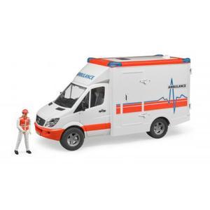 bruder MB Sprinter Ambulanz mit Fahrer (33109491)