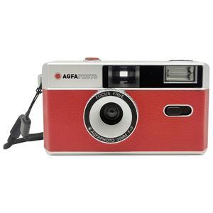 AgfaPhoto Reusable Photo Camera red, analoge Kleinbildkamera