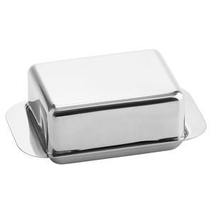 Butterdose für 125g Butter 12,5x7,5x4,5cm Edelstahl ()