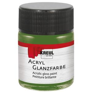 KREUL Acryl Glanzfarbe Olivgrün 50 ml (79509)
