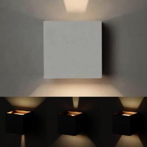Molto Luce Wandleuchte LED NEXT 7W 930 IP54 direkt/indirekt anthrazit matt