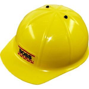 Bauhelm Boss, gelb # ca. 20cm (70570114)