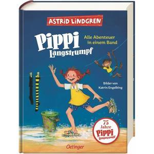 Oetinger Pippi Langstrumpf. Alle Abenteuer in ein (67655516)