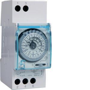Zeitschaltuhr analog 1We 16A Tagesprogramm 230VAC 2TE