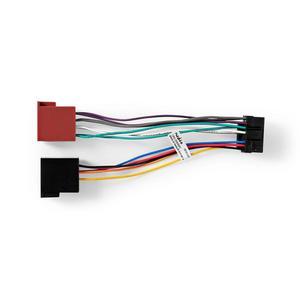 Nedis ISO-Adapter-Kabel / JVC / 0.20 m / rund / PVC / Plastikbeutel