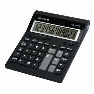 Olympia Taschenrechner LCD-612 SD (941911006)