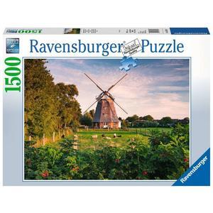 """Ravensburger Erwachsenenpuzzle """"Windmühle an der Ostsee"""" 1.500 Teile ab 14 Jahre Puzzle von Ravensburger"""