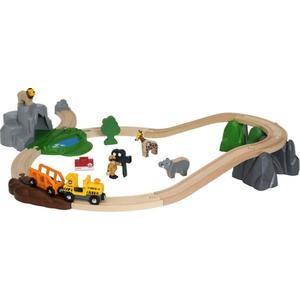 Ravensburger Großes BRIO Bahn Safari Set