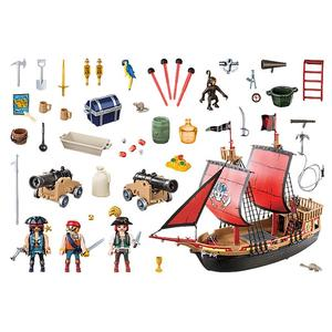Playmobil, Totenkopf-Kampfschiff, Pirates, 70411