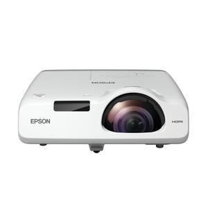 EPSON EB-535W 3LCD WXGA Kurzdistanzprojektor 1280x800 16:10 3400 Lumen Kontrast 16000:1 16W Lautspre
