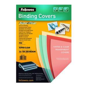 Fellowes Deckblatt A4 transparent 150 Mikron