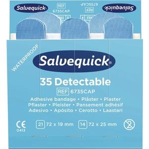 Pflasterstrips Salvequick detectable