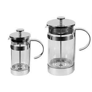 my basics Kaffeebereiter 3 Tassen Glas/verchromt 350 ml (JYS-1138-2C)