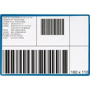 Multipack EICHNER Etikettentasche B160xH110mm magnetisch 10St./Pack