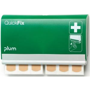 PLUM Pflasterspender QuickFix 1 B232,5xH133,5xT33ca. mm grün