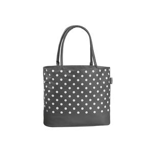 Multipack FABRIZIO Einkaufstasche grau/weiß (50294) - 4 Stück