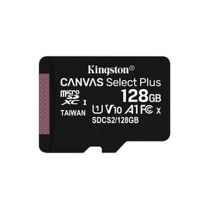 SD MicroSD Card 128GB Kingston SDXC Canvas+ (Class10) m.Adap retail (SDCS2/128GB)
