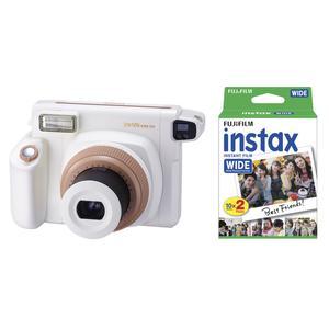 Fujifilm Valentins-Set Instax WIDE 300 toffee+Instax Wide Film Sofortbildkamera