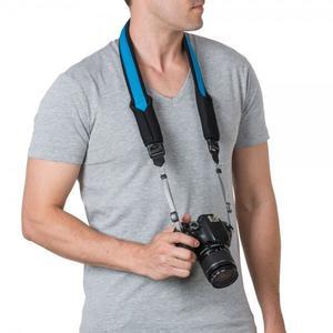 Pacsafe Carrysafe 75 GII Kamera neck strap hawaiian blue