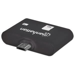 Manhattan Card Reader SD/MMC/Micro SD USB 2.0/OTG 24-in-1 (406208)