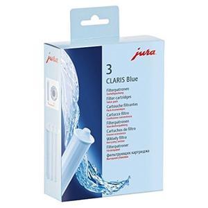 Jura 71312 Filterpatrone Claris, 3-er Set, blau