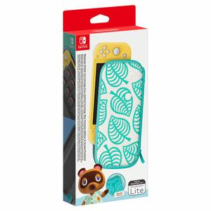 Nintendo Switch Lite Tasche (Animal Crossing) & Schutzfolie