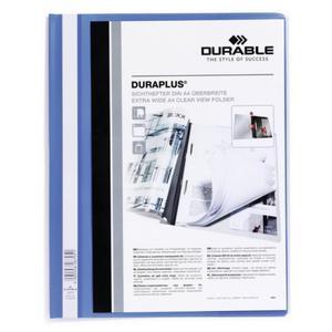 DURABLE Angebotshefter Duraplus Sichttasche blau (257906)