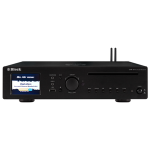 Block CD-Receiver Internetradio CVR-10 Saphirschwarz