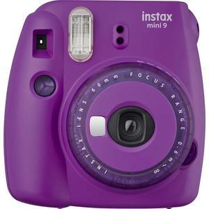 Fujifilm Instax mini 9 clear purple limited edition Sofortbildkamera