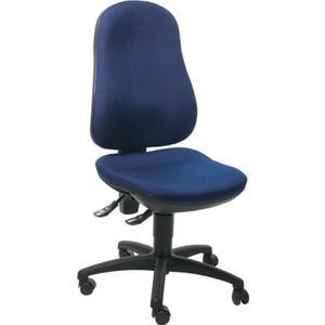 TOPSTAR Bürodrehstuhl mit Permanentkontakt royalblau 420-550 mm ohne Armlehnen Tragfähigkeit 110 kg