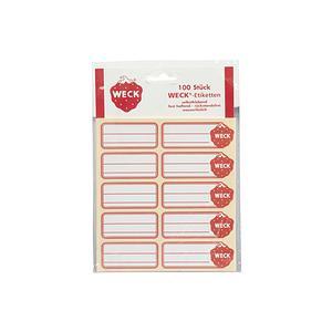 WECK Etiketten selbstklebend 100er Pack ()