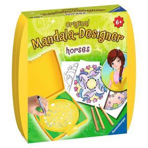 "Ravensburger Malsets ""Mini Mandala-Designer Horses"" ab 6 Jahre von Ravensburger"