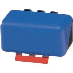 GEBRA Sicherheitsaufbewahrungsbox SecuBox ? Mini blau L236xB120xH120ca.mm