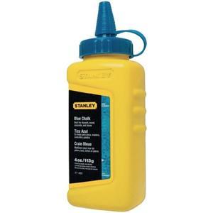 STANLEY Schlagschnurkreide 115 g blau wasserfest, schwer löslich Kunststoffflasche