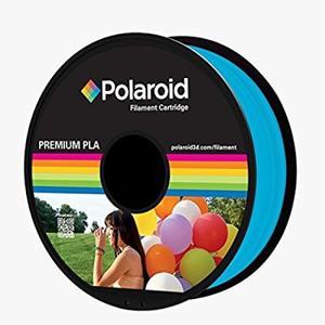 Polaroid Filament 1kg Premium PLA Filament transp.light blue (3D-FL-PL-8023-100)