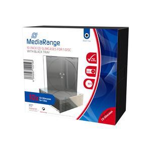 MediaRange CD Slimcase für 1 Disc schwarz 1x1