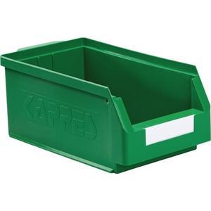 KAPPES Sichtlagerkasten L350xB200xH150mm PE grün