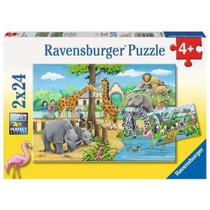 """Ravensburger Kinderpuzzle """"Willkommen im Zoo"""" 24 Teile ab 4 Jahre Puzzle von Ravensburger"""