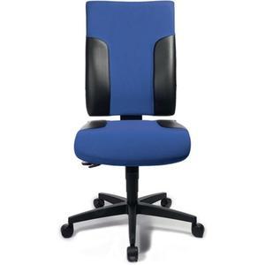 TOPSTAR Bürodrehstuhl mit Synchrontechnik blau/schwarz 420-540 mm ohne Armlehnen Tragfähigkeit 110 k