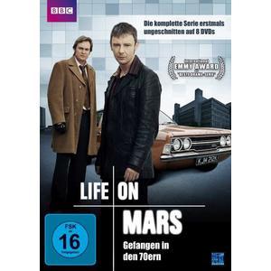 Life on Mars - Uncut Gesamtbox (8 DVDs)