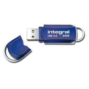Integral USB Stick Courier 3.0 64GB bl (75-22-56/INFD64GBCOU3.0)