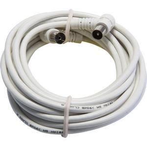 Triax Antennen Anschlusskabel 1,5 m IEC-Winkel Stecker-Buchse 90dB