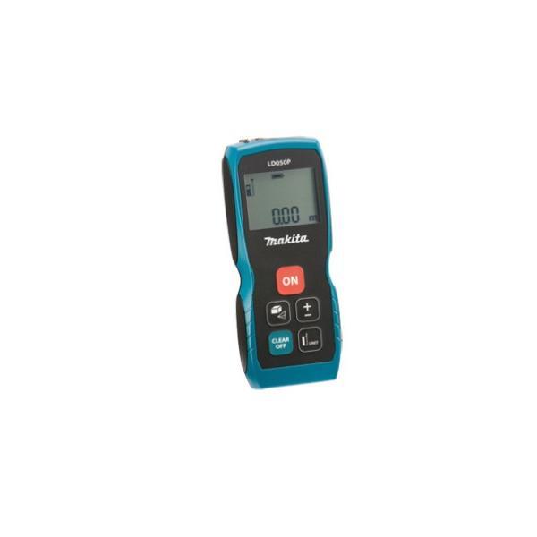 Makita Laser Distanzmessgerät Messgenauigkeit +- 2 mm Batteriebetrieb